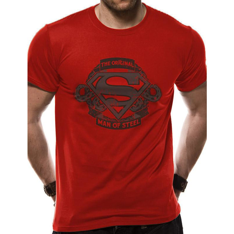 Buy Superman (Original Man Of Steel) T-shirt online at Loudshop.com