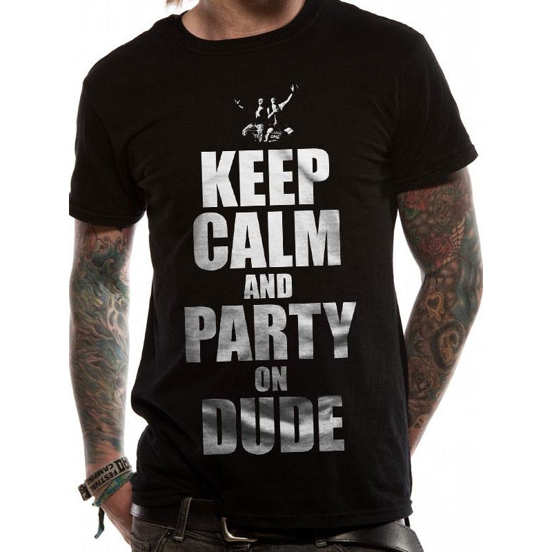 Buy Bill And Ted (Keep Calm) T-shirt online at Loudshop.com