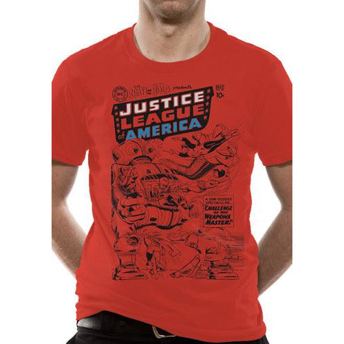 JUSTICE LEAGUE - ROBOT T-shirt