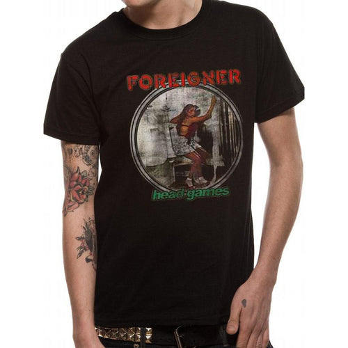 Buy Foreigner (Head Games) T-shirt online at Loudshop.com