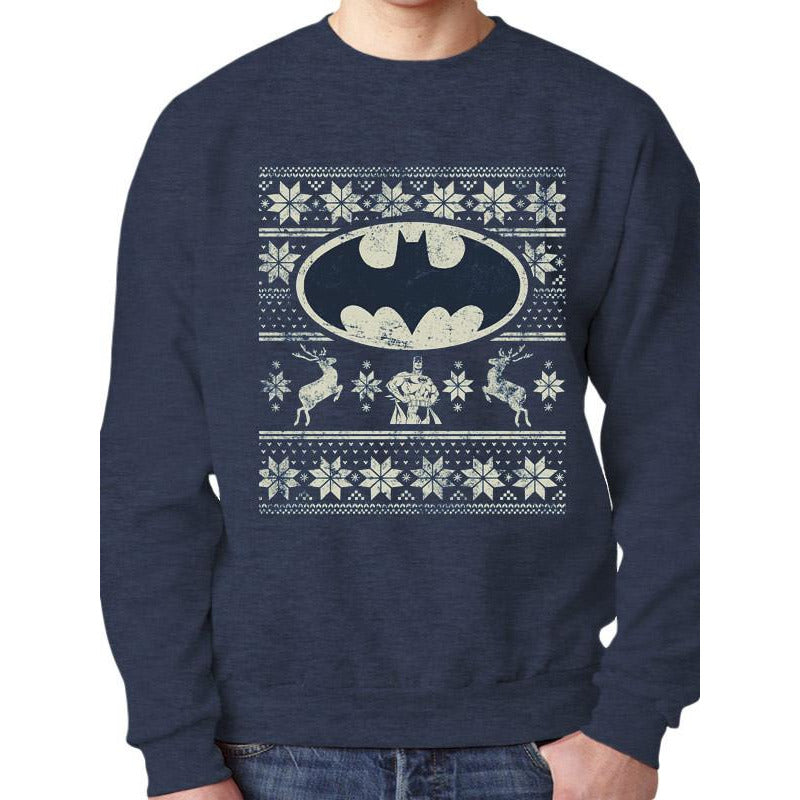Buy Batman (Fair Isle) Jumper online at Loudshop.com