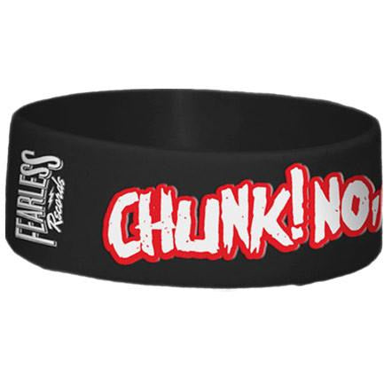 Chunk! No Captain Chunk | Logo Rubber Wristband