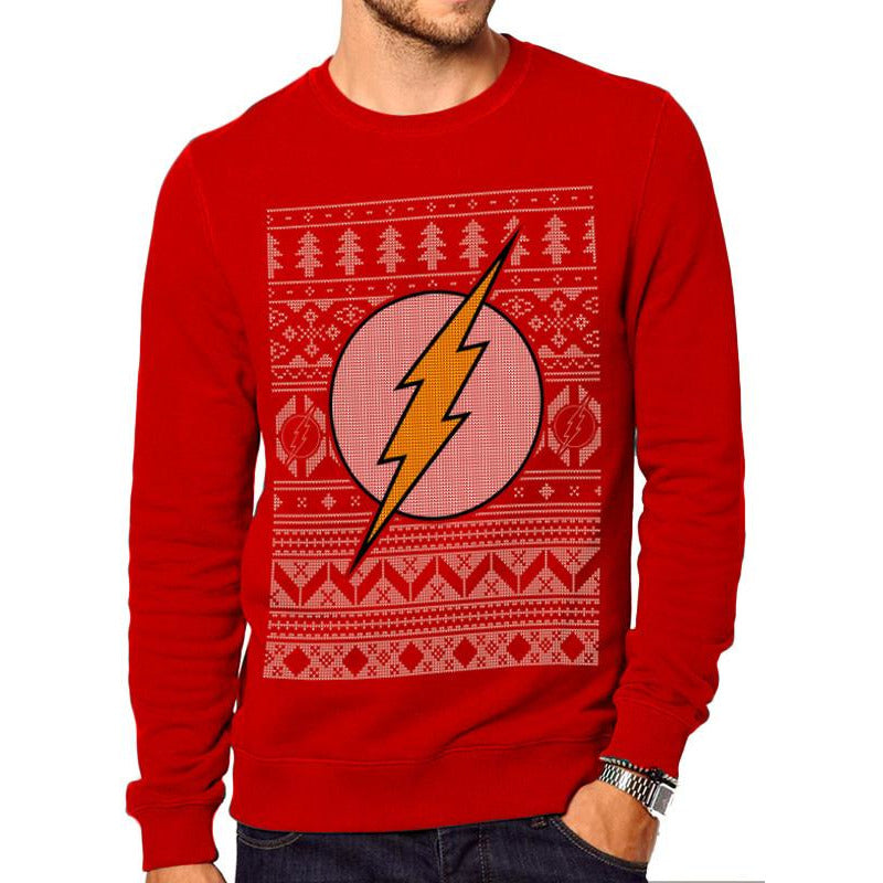 Buy The Flash (Fair Isle) Jumper online at Loudshop.com