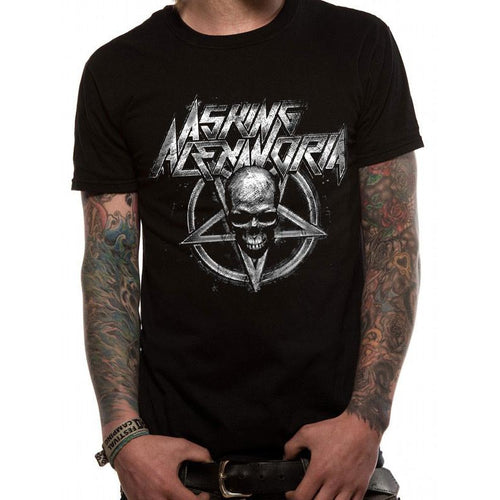 Buy Asking Alexandria (Death Metal) T-shirt online at Loudshop.com