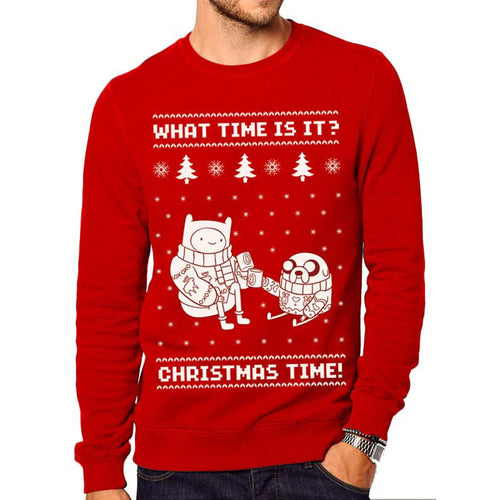 Adventure Time | Christmas Time Sweatshirt