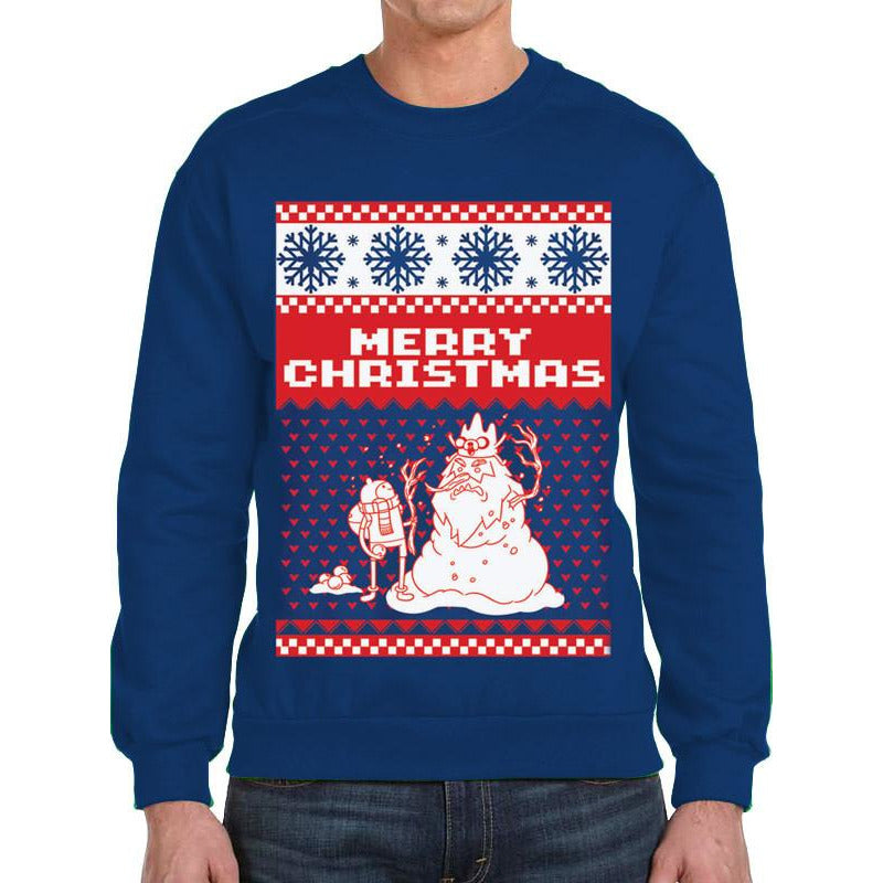 Buy Adventure Time (Merry Christmas) Jumper online at Loudshop.com