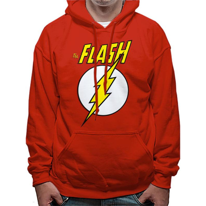 The Flash | Logo And Symbol Pullover Hoodie