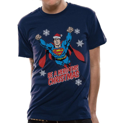 Superman - Christmas Hero T-shirt