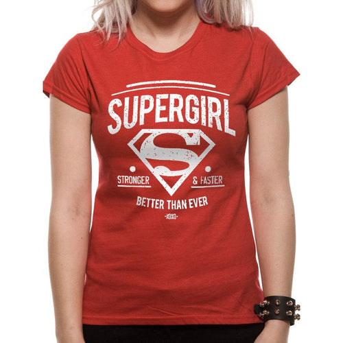 Supergirl | Better Than Ever Womens Fitted T-Shirt
