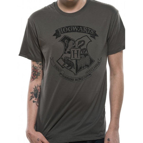 Buy Harry Potter (Distressed Hogwarts) T-shirt online at Loudshop.com