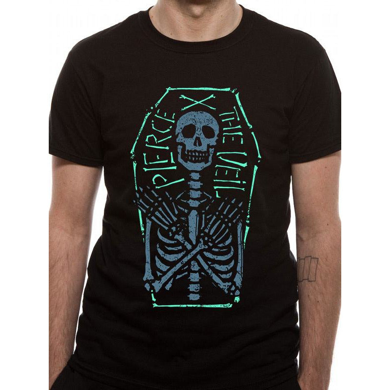 Buy Pierce The Veil (Skeleton Coffin) T-shirt online at Loudshop.com