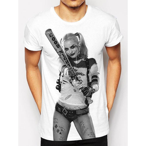Suicide Squad | Harley Quinn Photo Sublimation T-Shirt