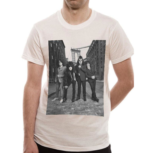 Buy Kiss (B&W City) T-shirt online at Loudshop.com