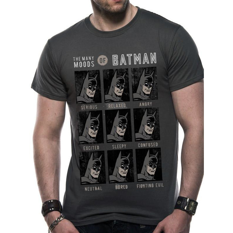 Buy DC Originals (Moods Of Batman) T-shirt online at Loudshop.com
