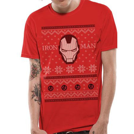 Avengers | Iron Man Fair Isle T-Shirt