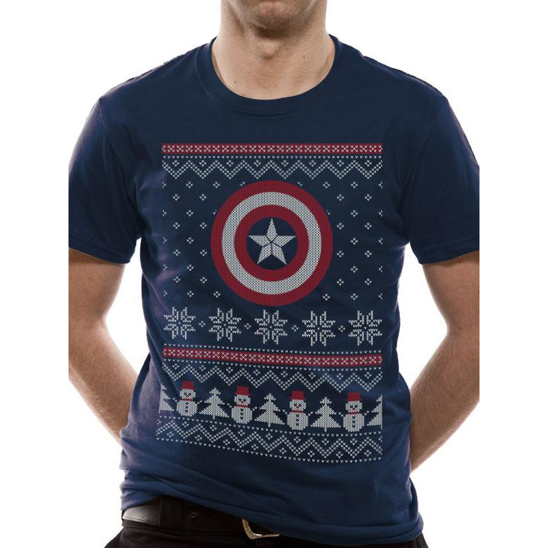 Civil War - CA Fair Isle Christmas T-shirt