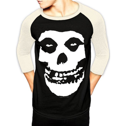 The Misfits | Skull Baseball Shirt