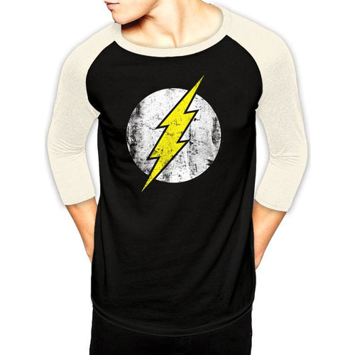 The Flash | Logo Baseball Shirt Bla