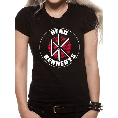 DEAD KENNEDYS - BRICK LOGO Fitted T-Shirt