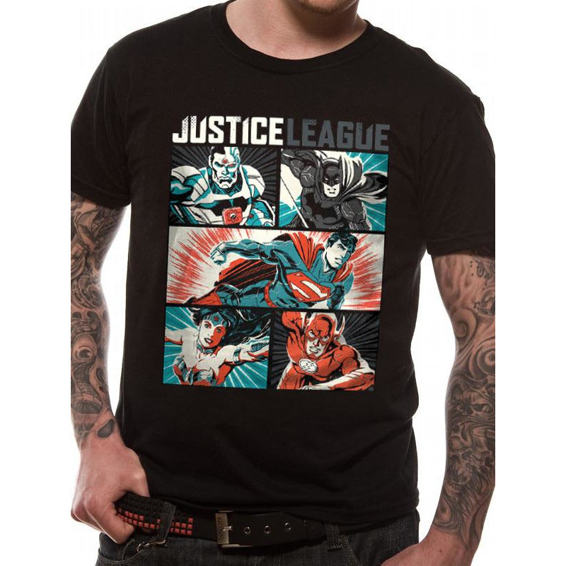 Justice League Comics | Pop Art T-Shirt