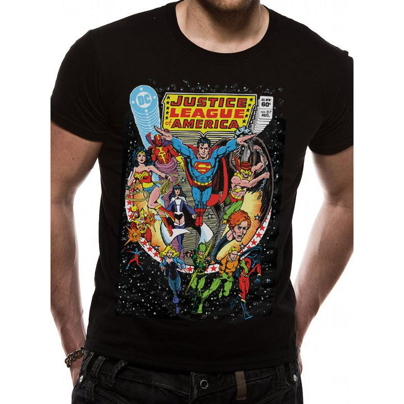 Justice League Comics | Comic Cover T-Shirt