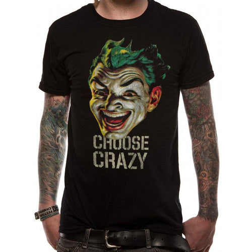 Joker - Choose Crazy T-shirt
