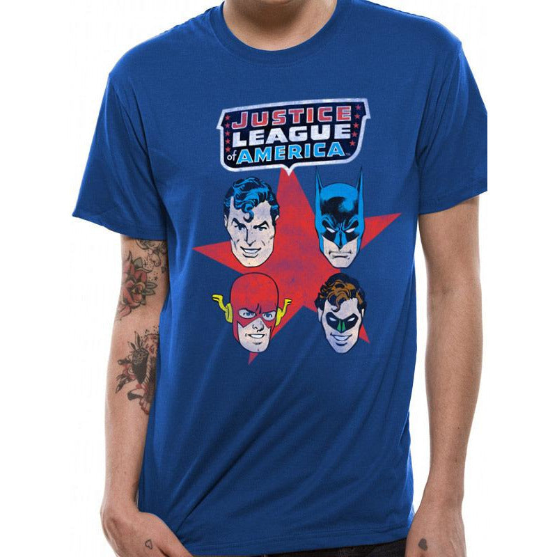 Justice League | 4 Faces T-Shirt