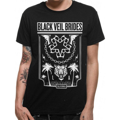 Black Veil Brides - Welcome To L.A. T-shirt