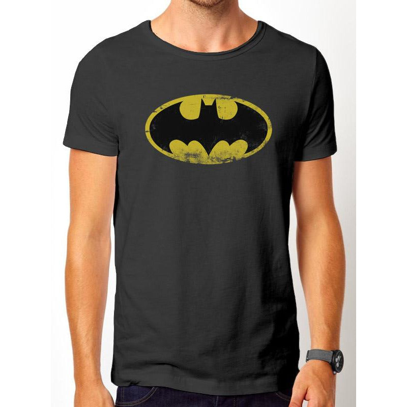Batman - Logo Vintage T-Shirt