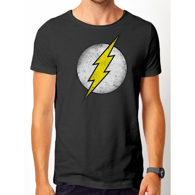 The Flash - Logo Vintage T-Shirt