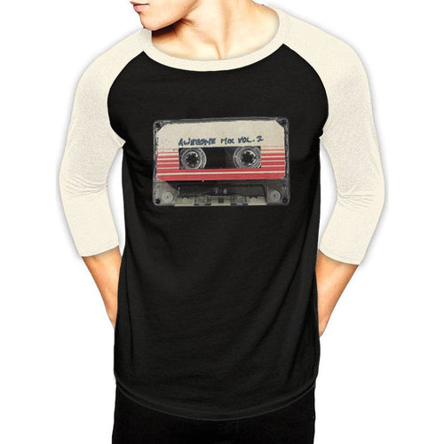 GUARDIANS OF THE GALAXY 2 - TAPE Baseball Shirt