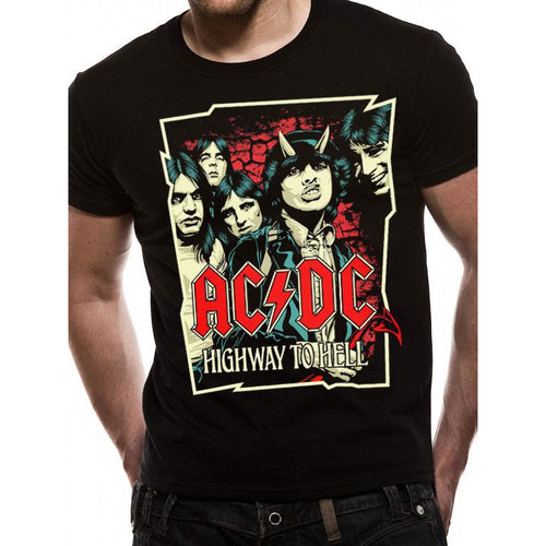 AC/DC | Highway Cartoon T-shirt