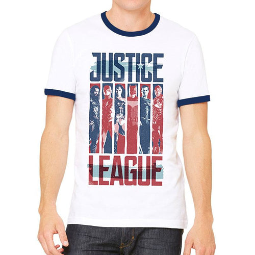 Justice League Movie | Strips T-Shirt