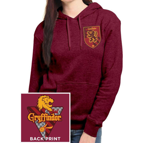 Buy Harry Potter (House Gryffindor) Fitted Hooded Sweatshirt online at Loudshop.com