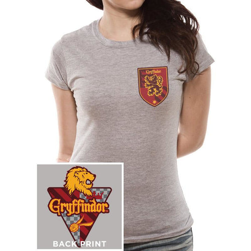 Harry Potter - House Gryffindor Fitted T-shirt