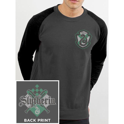 Buy Harry Potter (House Slytherin) Baseball Sweatshirt online at Loudshop.com