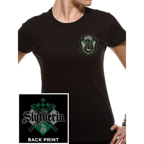 Harry Potter | House Slytherin Fitted T-Shirt
