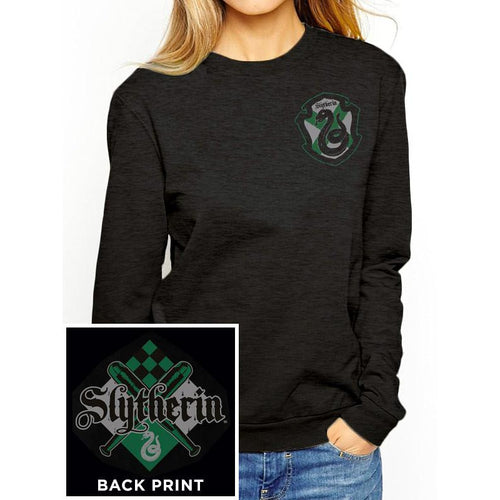 Harry Potter (House Slytherin) Fitted Crewneck Sweatshirt