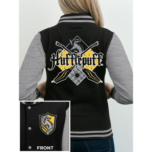 Buy Harry Potter (House Hufflepuff) Varsity Jacket online at Loudshop.com