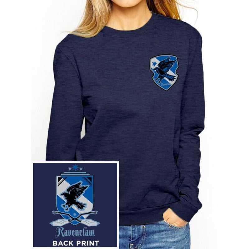 Harry Potter (House Ravenclaw) Fitted Crewneck Sweatshirt