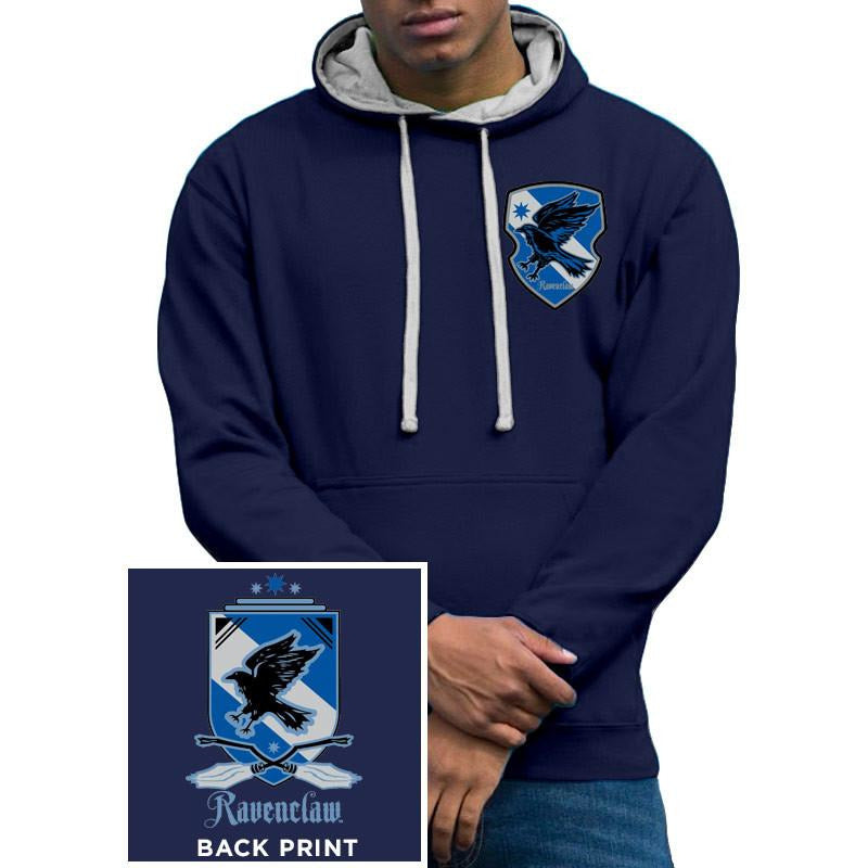 Buy Harry Potter (House Ravenclaw) Varsity Hoodie online at Loudshop.com