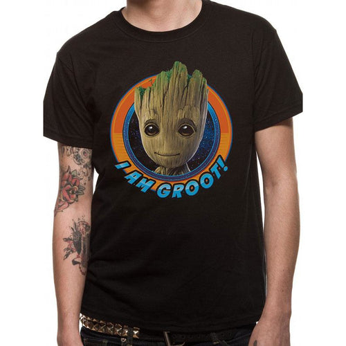 Guardians Of The Galaxy 2 | Groot Circle T-Shirt