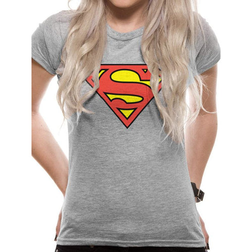 Superman | Logo Fitted T-Shirt