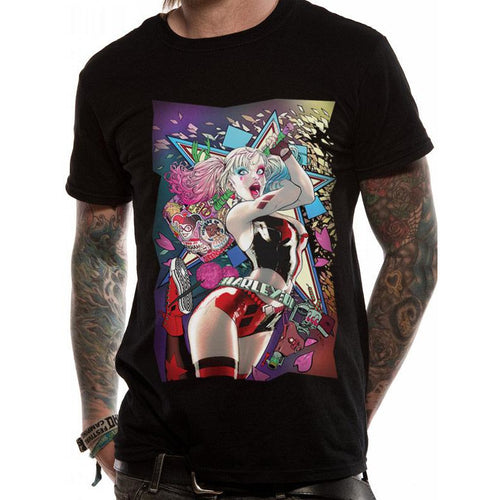 Batman - Harley Smashing T-shirt