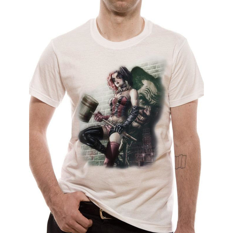 Batman: Arkham Knight - Harley Quinn WALL ART T-shirt