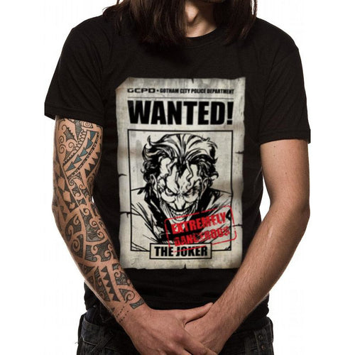 Batman - Joker Wanted T-shirt