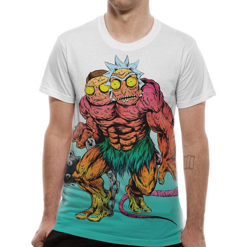 Rick And Morty | Monster Sublimated T-Shirt