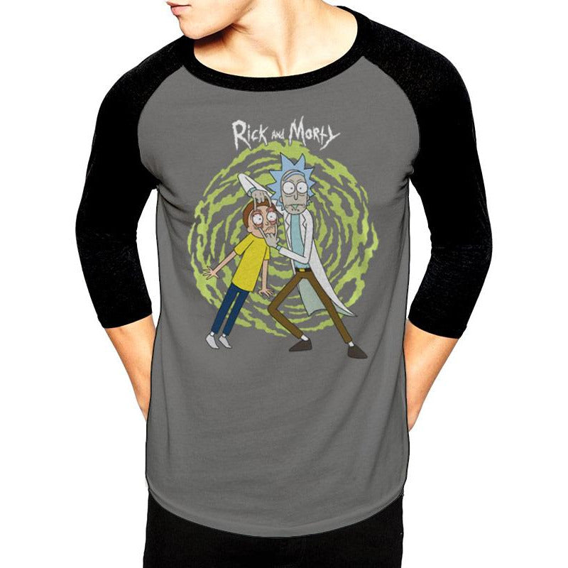 Rick And Morty | Spiral Baseball Shirt