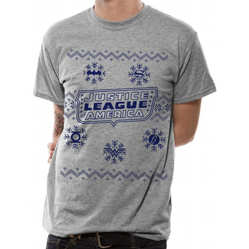 DC Originals - Justice League Xmas T-shirt