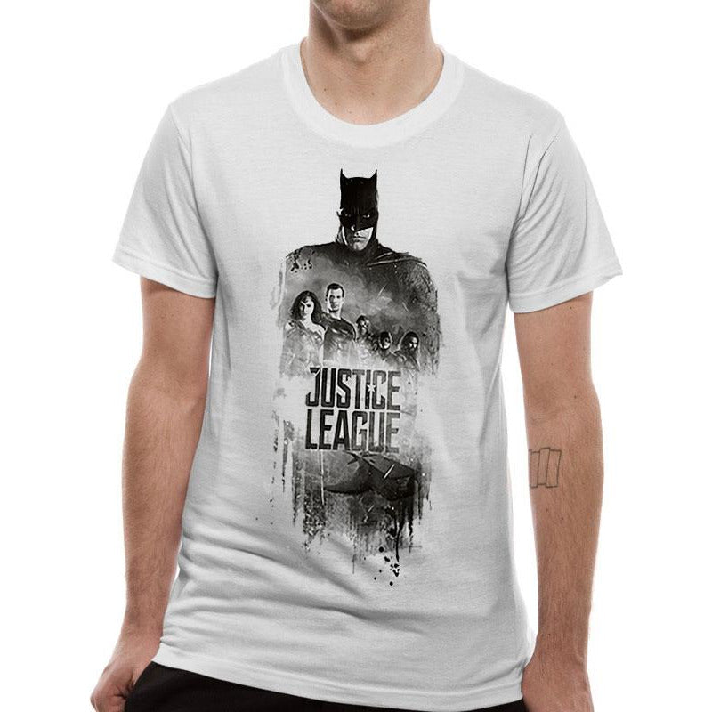 Justice League Movie - Batman Silhouette T-Shirt